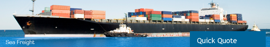 Find out more about our Sea Freight Services